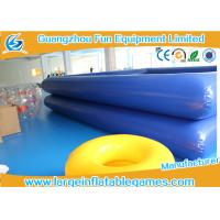 Quality Water Park Equipment Inflatable Water Pool , Inflatable Square Pool For Paddle Boats for sale