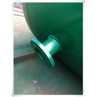 Buy 10mm Thickness Vertical Compressed Air Reservoir Tank With Flange / Screw Thread Connector at wholesale prices