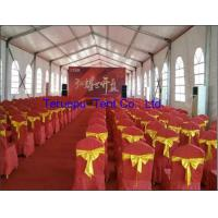 Quality Extendable frame tent, structure marquee with roof lights, chairs and talble for sale