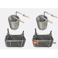 Buy cheap Spiral Grooved Stainless Steel Tube Heat Exchanger / Condenser High Effiency from wholesalers