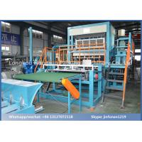 Quality Automatic Paper Pulp Egg Tray Production Line 2500PCS / H with Drying Line for sale