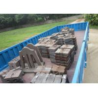 Quality BTMCr15 High Cr Cast iron Stepped Liners Cement Mill Liners High Abrasion Performance for Delivery for sale