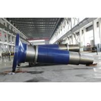 Quality 34CrNiMo6 2CrMo4 Alloy Steel Forged Shaft, Spindle Forging For Wind Power for sale