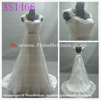 Quality white/Ivory Lace wedding dress bridal gown #AS1466 for sale