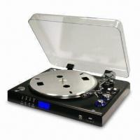 Quality Turntable Player with Built-in Stereo Pre-amplifier for sale