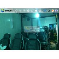 Buy 9 Persons 7D Movie Theater With Special Effect System , Thrilling Drastic Movement Of Chair at wholesale prices