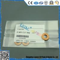 Quality F00VC17504 injector copper fitted to car, ERIKC automotive injector 7.1*15*2mm copper for diesel injector for sale