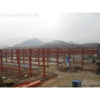 Quality Wide Span Pre-Engineering Industrial Steel Buildings Frame , Movable Container House for sale