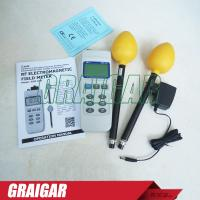 Quality 100k - 100m EMF Tester Electromagnetic Field Meter 3 Axis Radio Frequency for sale