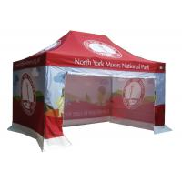 Quality Anti UV Portable Canopy Tent CMYK Heat Transfer Printing Easy Maintenance for sale