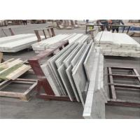 China Superior Carrara White Marble Table Tops For Restaurant Dinning Table on sale