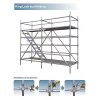 Buy Customized Galvanized Steel Scaffolding Powder - Coated For Walking Stair at wholesale prices
