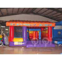 Quality 4 in 1 Kids Inflatable House Combo for sale