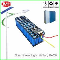 China LifePO4 Cylindrical Lithium Ion Battery Pack / 12V 15Ah Solar Street Light Battery on sale