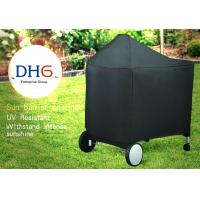 Quality Oversized Canvas Outdoor BBQ Accessories Cover 24 Inch Luxury Heat Resistant for sale