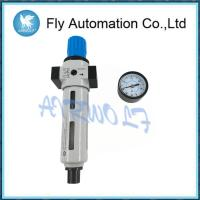 Quality Fully Automatic Air Compressor Filter Regulator Silver Color Metal Bowl Guard for sale