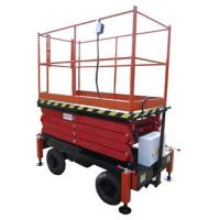Buy cheap 6 Meters Hydraulic Lifting Equipment with Extension Platform 450kg Loading from wholesalers