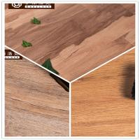 Quality 3W Avoid Glue/Interlocking/Environmental Protection/Home DecK/Wood Grain PVC Floor(6-8mm) for sale
