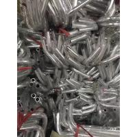 Buy Bending Alumium Round Tube with Grey Powder Coating Surface use for Baby Cart at wholesale prices