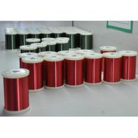 Quality Red / Green Enamel Ultra Fine Copper Wire 0.016 - 0.8mm For Mini Transformers for sale