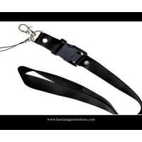 Buy CMYK Submliamtion polyester lanyard strap with plastic buckle lanyard at wholesale prices