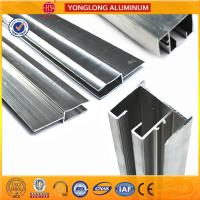 Quality Anodized Silver 6063 Aluminum Window Frame Profile Corrosion - Resistant for sale