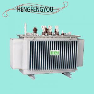 China 30KVA - 6000KVA SH15 Amorphous Alloy Power Oil Immersed Transformer Three Phase Distribution Power Transformer on sale