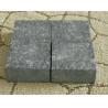 G684 Fuding Black Granite Basalt  Small Slab Tile Polished Flamed Leather Finished for sale
