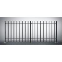 Quality Safety Ornamental Aluminum Fence , Powder Coated Residential Fencing for sale