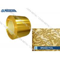 H63 - C27200 - CuZn37 Metal Alloy Foils Of Copper And Zinc With Size 0.01mm * 600mm