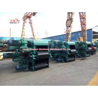 High Output Drum Chipper Machine Industrial Mobile Wood Sawdust Making Machine for sale