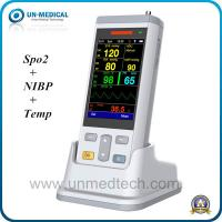 Quality UN-medical handheld vital signs monitor with USB: NIBP, SPO2, TEMP for sale