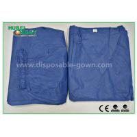 Fashionable Hospital Nurse Scrub Suit Soft and Breathable SMS Material for sale