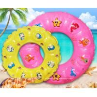 Quality Summer Children Lifebuoy Ring Inflatable Float Ring Toys for Swimming Pool or Beach Fun for sale