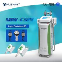 Quality CE/FDA  Cryolipolysis fat freezing RF cavitation machine lowest  tempeature -15oC  for whole body treatment for spa use for sale