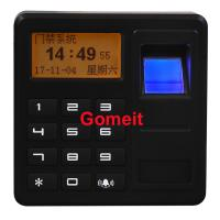 Quality Fingerprint Standalone Keypad Access Control ABS Plastic 8 Users Password Capacity for sale