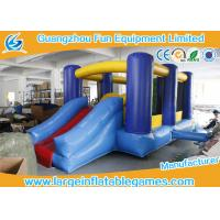 Quality Small Inflatable Bounce House With Slide / Childrens Bouncy Castle for sale