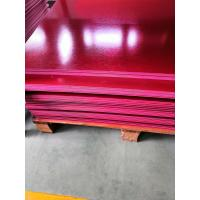 Quality Square EN45545 Certified GPO3 Fiberglass Sheet Made From Polyester And Glass Fiber for sale