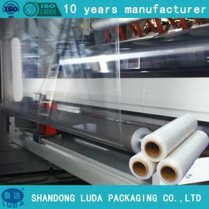Quality 23mic pallet shrink wrap plastic packaging film,hand pallet shrink wrap filme stretch for sale