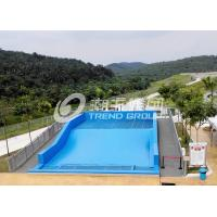 Buy cheap Surfing Flowrider Water Ride Extreme Sport Fun 21.7m * 13.4m For Aqua Park from wholesalers