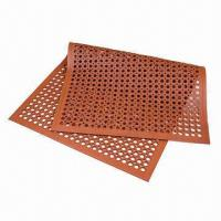 Quality Multipurpose Anti-fatigue Mat with Honeycomb Pattern and Beveled Edge  for sale