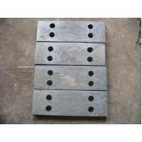 Quality Alloy Steel Castings Plates For Jaw Crusher With Sandblasted Treat for sale