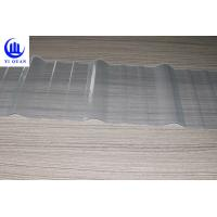 Quality Clear Color Transparent Corrugated Roofing Sheets Fiberglass Material High Strength Sun Sheet for sale