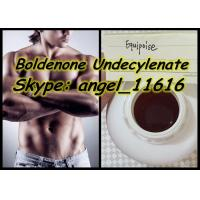 Quality Equipoise Boldenone Steroid Yellowish Liquid Boldenone Undecylenate 300MG / ML for sale
