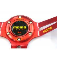 Buy Auto Accessories PVC Shell Deep Dish Steering Wheel 350 Mm With Aluminum Stand at wholesale prices