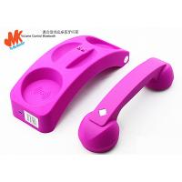 Quality For All Mobile Phones and Computers, Pink Cordless Retro Bluetooth Phone Handset for sale