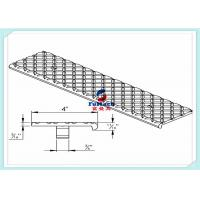 Quality T3/T6 6063 Anodized Aluminum Extrude Profiles With Aluminum Stair Part for sale