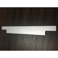 Quality CNC Machining Processing / Sand Blasted Natural Anodized Aluminum Profile for Drawer Handle for sale