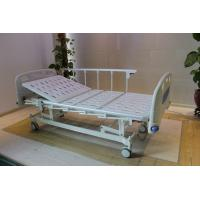 Quality Height Adjustable Central Locking Three Motors Medical Hospital Bed with Bumpers for sale