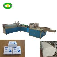 Quality High speed two heads tissue paper bagging and sealing machine for sale